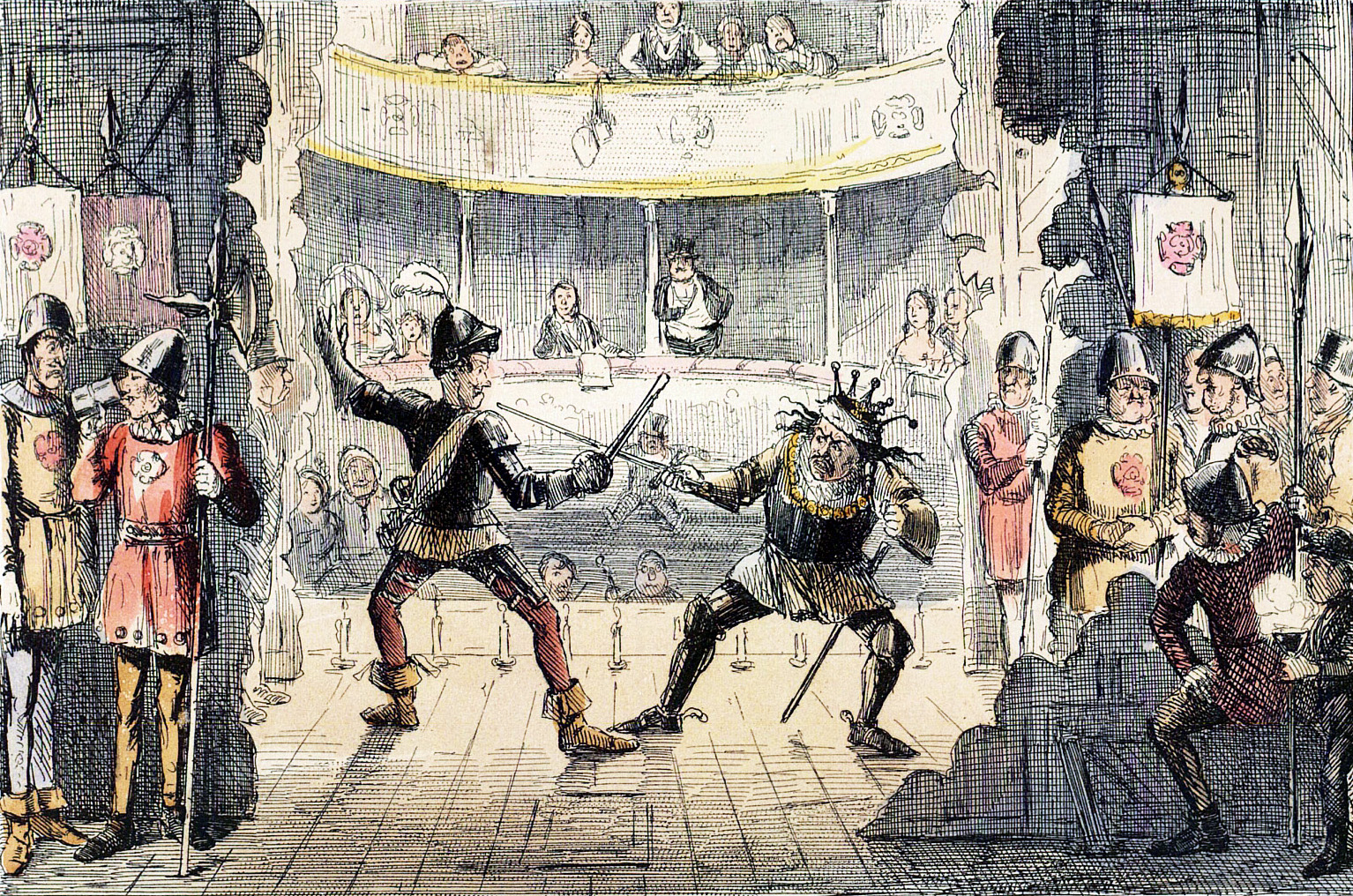 the history and development of the elizabethan theatre