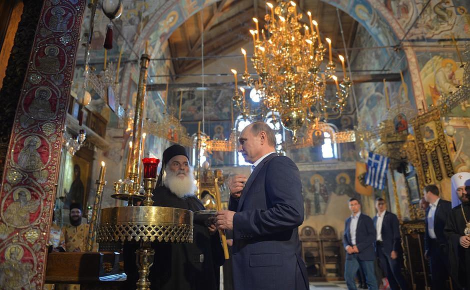О чем разговаривал Владимир Путин с Богом и что просил у Него?
