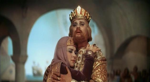 Царь с Царицею простился