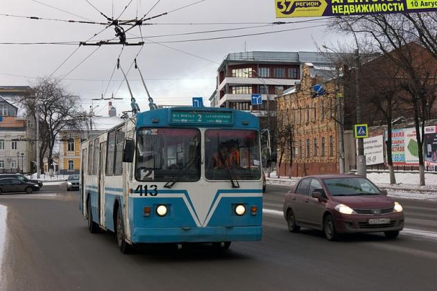 Ивановцы выступили за сохранение троллейбуса