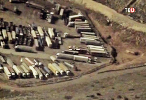 Минобороны России сообщает о росте потока грузовиков из Турции в Сирию