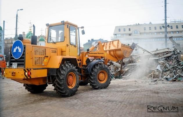 Московским властям предъявлен двухмиллиардный иск за снос павильона