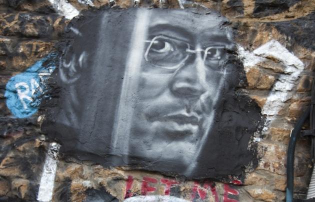 Михаил Ходорковский (граффити)