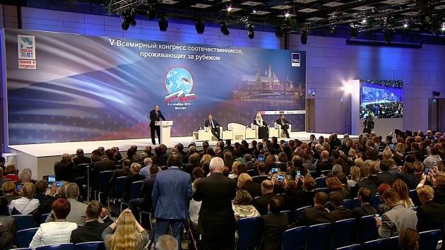 Матвиенко: Россия стала активнее поддерживать соотечественников за рубежом