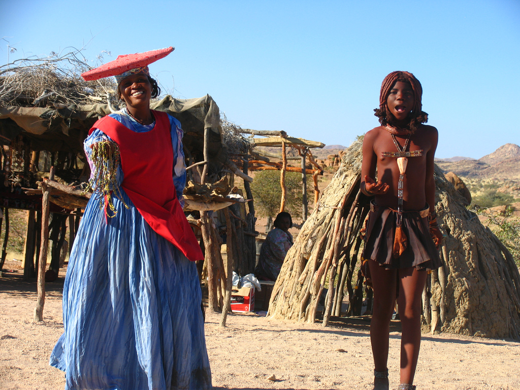 Женщины племени гереро