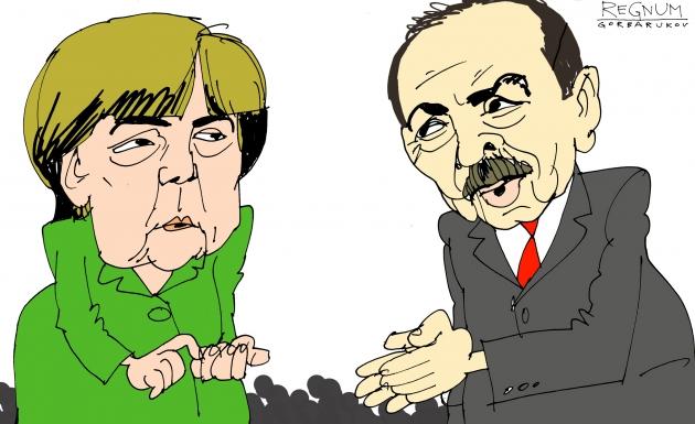 Депутаты бундестага требуют от Меркель ужесточить риторику против Эрдогана