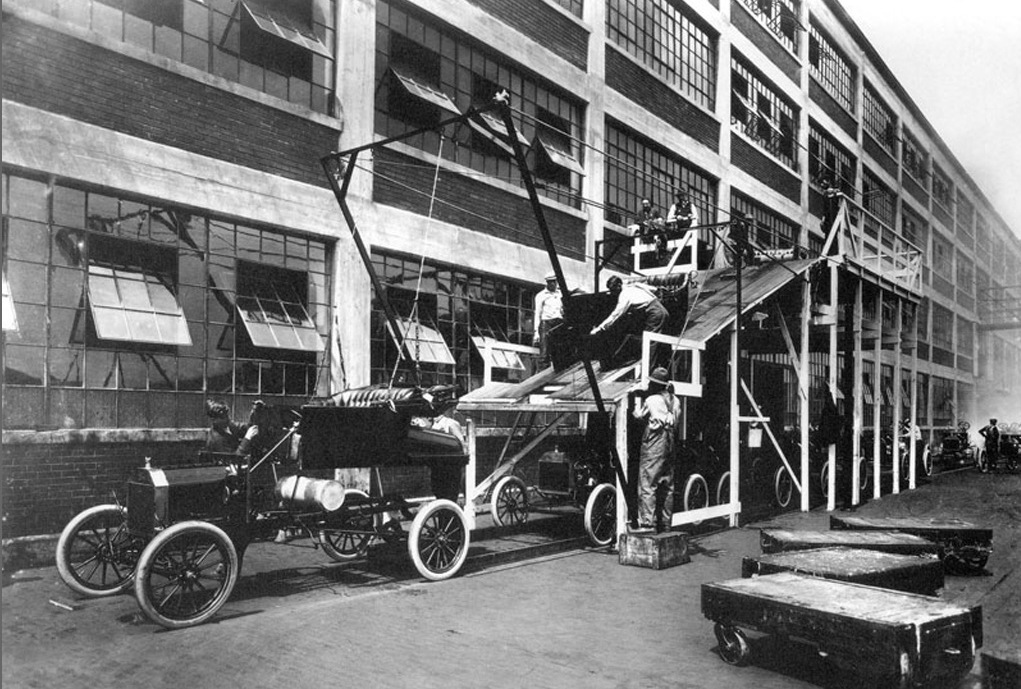 Конвейер 1913 видео с конвейера ваз