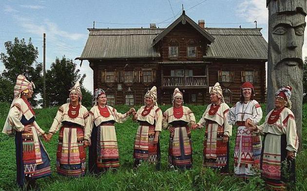 Русский мир вепсов