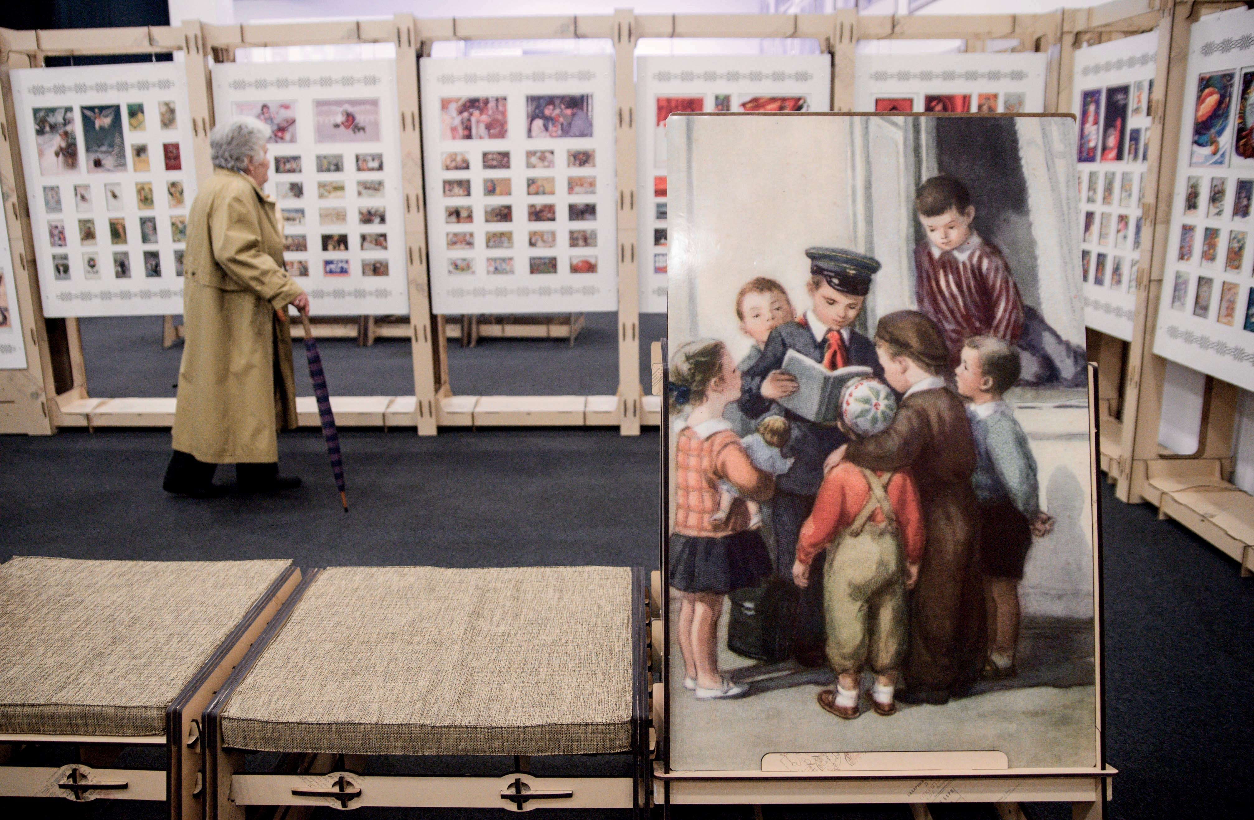 Музей открыток в москве, открытку