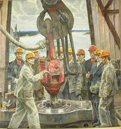 Энгельс Козлов. Нефтяники Печоры. 1972-1973