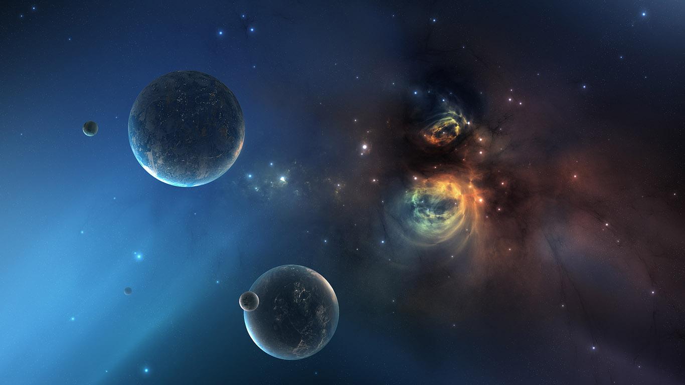 Обои земля, астероиды. Космос foto 14