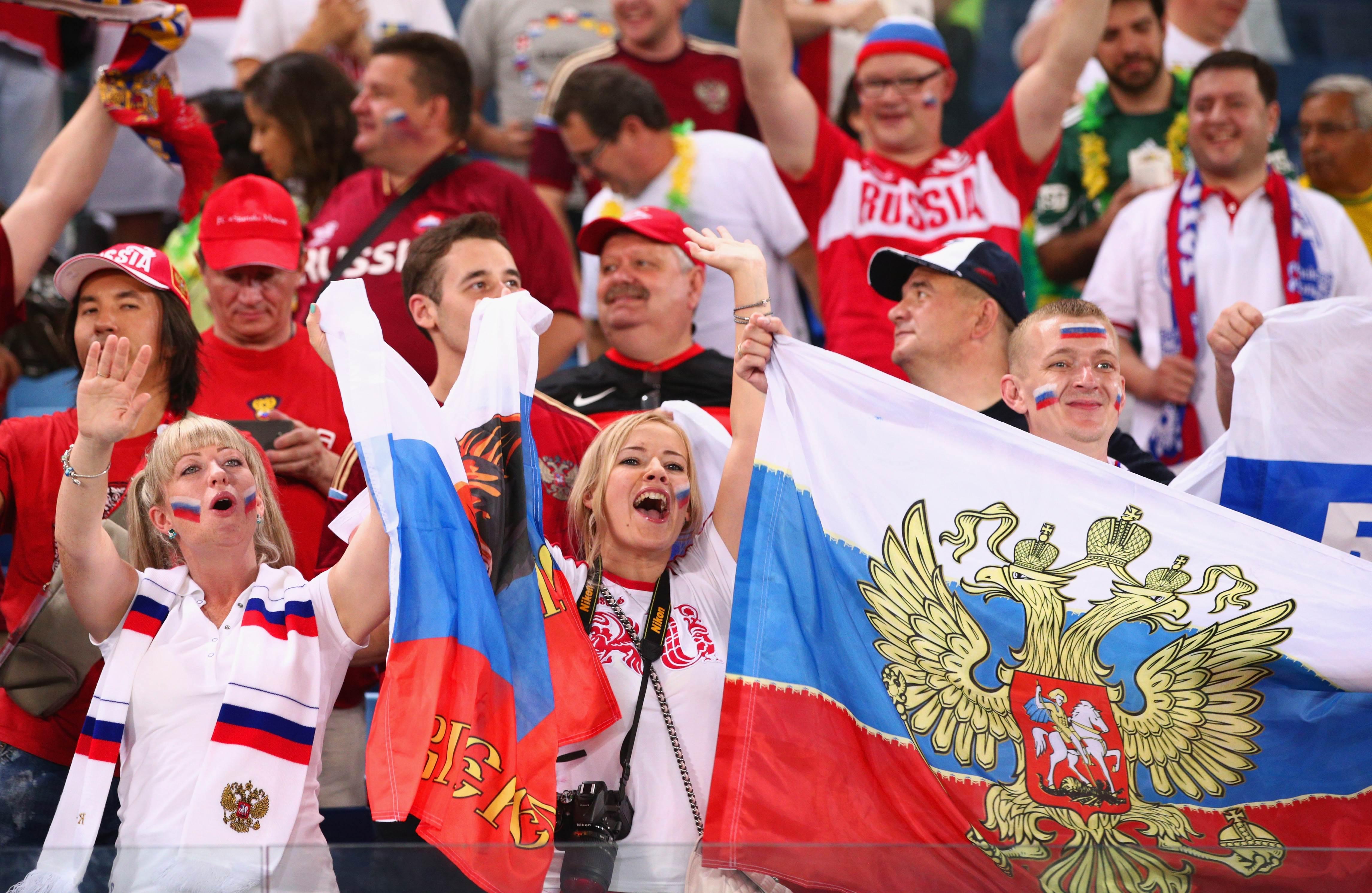 Болельщики сборной россии по футболу фото