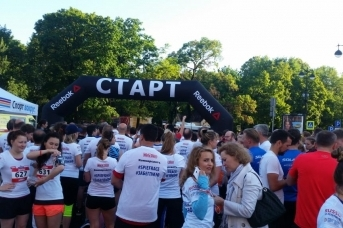 Старт забега SPIEF RACE