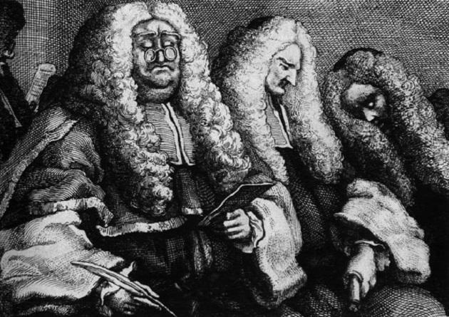 Уильям Хогарт. Судьи. XVIII век