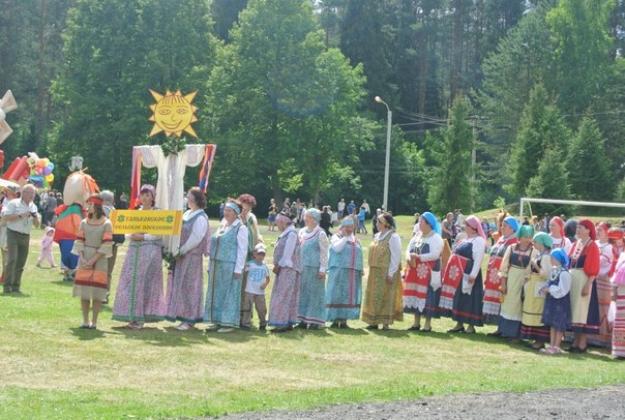 Праздник «Вепсский родник». Фото сообщества «Вепсский край»