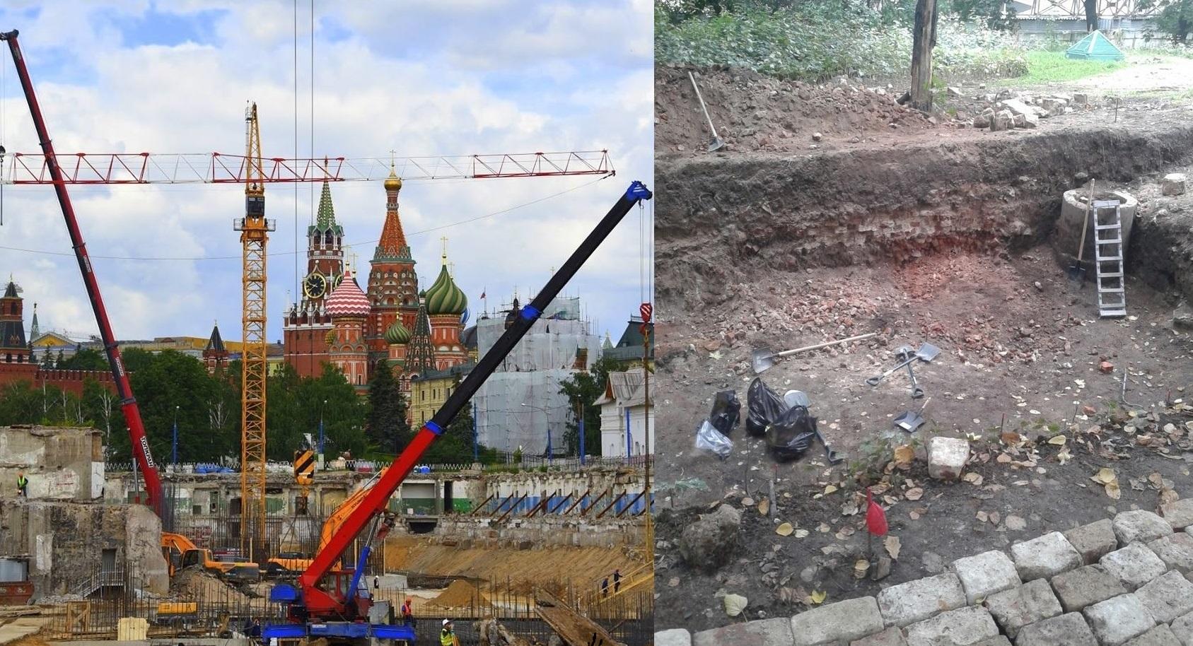 Величайшая находка московских археологов - древнейшая улица .