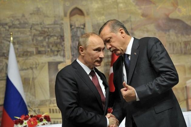 Наташи и аниматоры в восторге:  Эрдоган назвал Путина другом и предсказал прорыв в отношениях с Россией
