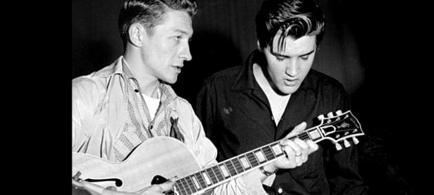 В США умер гитарист Элвиса Пресли Скотти Мур