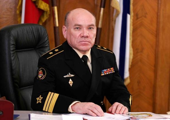 Командующий Балтийским флотом Виктор Кравчук