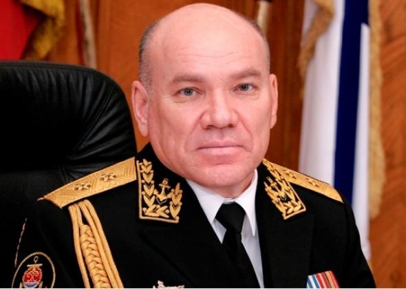 Бывший командующий Балтфлотом Виктор Кравчук