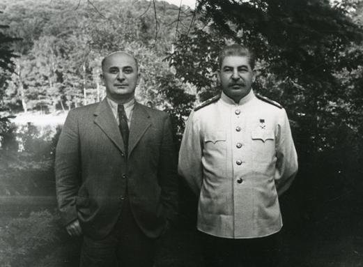 Иосиф Сталин и Лаврентий Берия