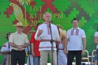 Министр культуры Белоруссии Борис Светлов