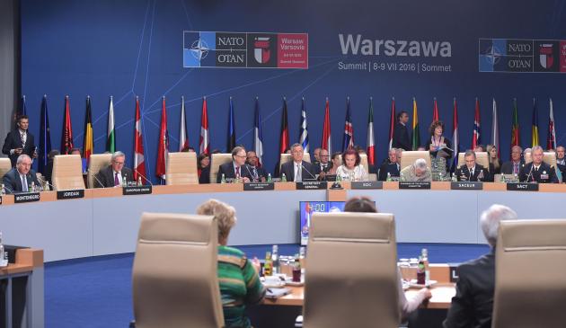 По поводу панических воплей в моей френдленте о саммите НАТО.   Вопят о том, что вместо