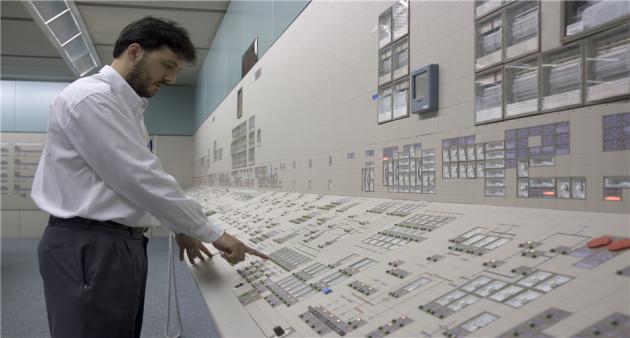 Центральный пост управления АЭС «Ангра-1»
