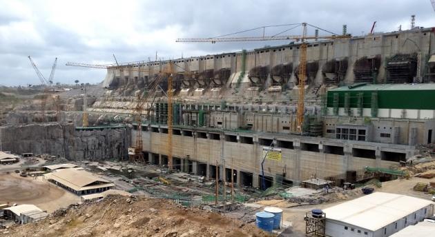 Строительство ГЭС Белу Монти, Бразилия