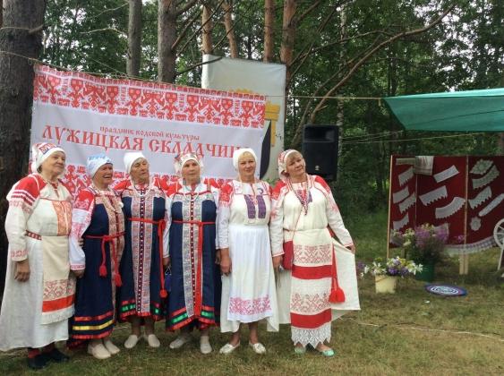 Жители Ленобласти отведали водских угощений