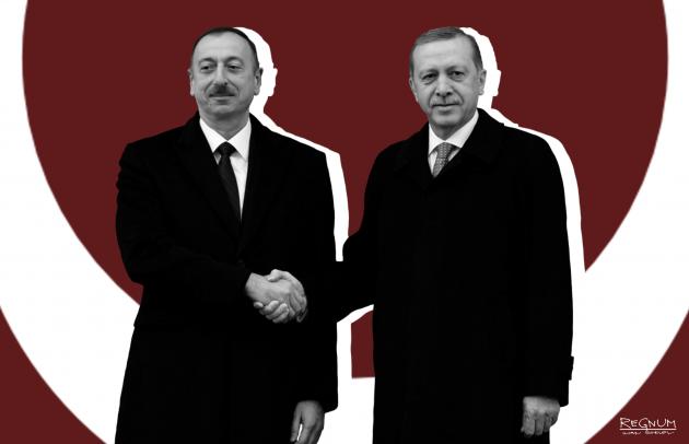 Алиев всю ночь следил за Эрдоганом