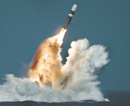 Запуск БРПЛ Trident II