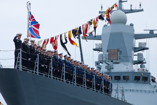 Корабельный парад