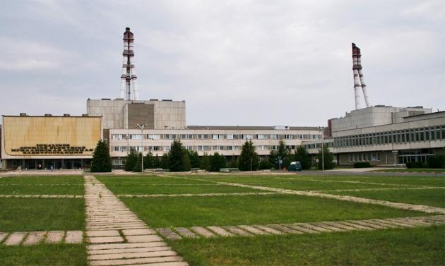 В Литве горели помещения Игналинской АЭС