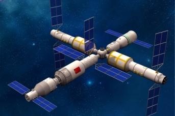 Первая китайская орбитальная станция «Тяньгун-2»
