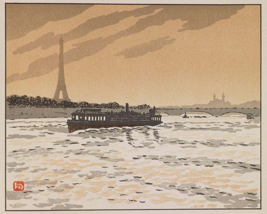 Анри Ривьер. Эйфелева башня. 1902 гг