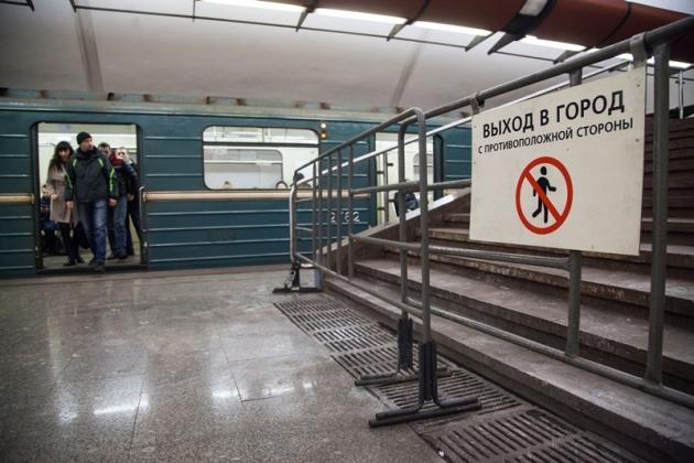 Участок «серой» ветки московского метро закрыт на один день