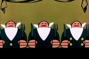 Бюрократия. Цитата из м/ф «Три толстяка». реж Валентина Брумберг, Зинаида Брумберг. СССР. 1963