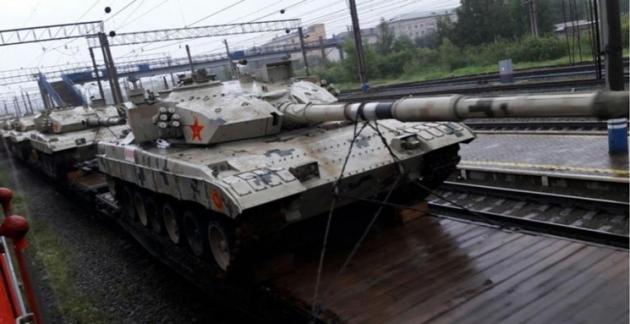 Китайский танк Type-96В