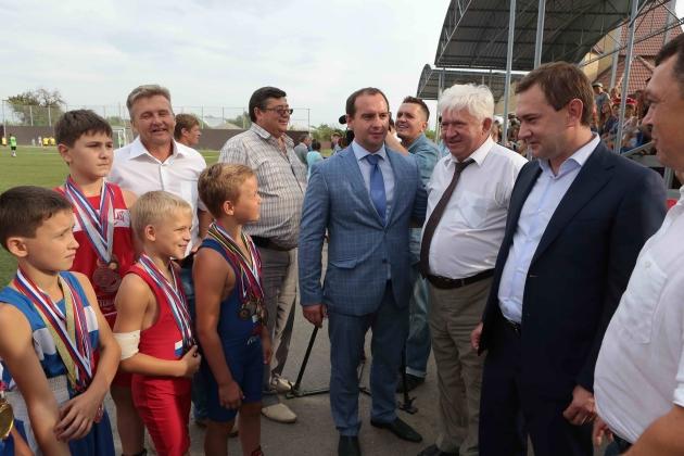 В Воронежской области стартовал детский футбольный турнир