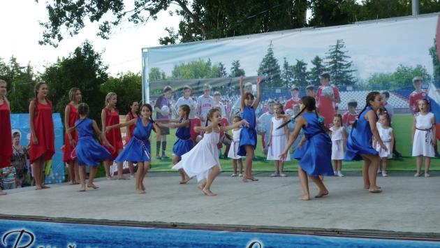 Танец о России