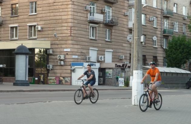 На велосипеде от инфаркта