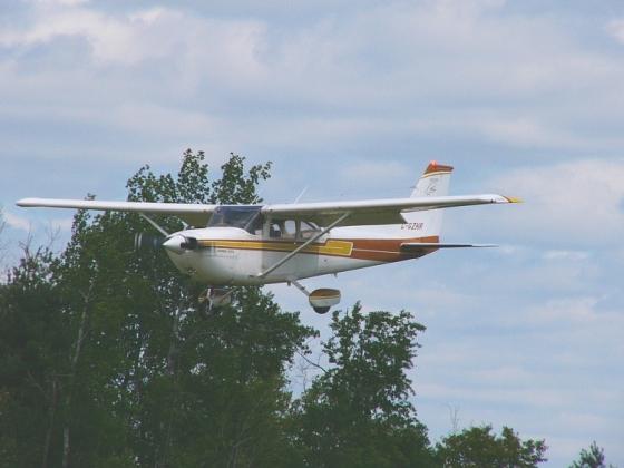 Во Франции пилот разбился на легкомоторном самолете