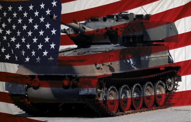 Американские танки выступили на военном параде в Польше