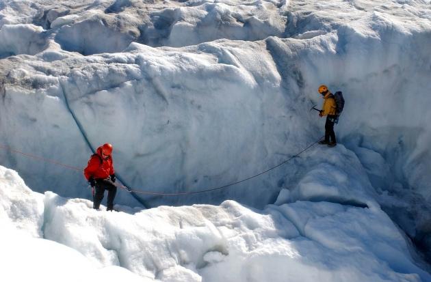 Ядерный город США найден подо льдами Арктики