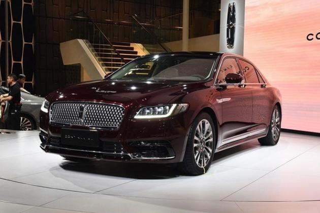 В Китае стартуют продажи нового Lincoln Continental