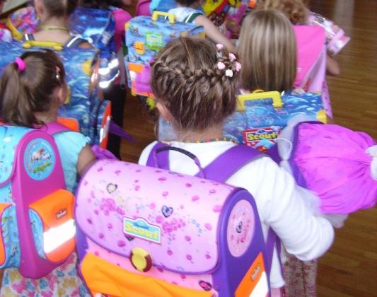 Роспотребнадзор определил оптимальный вес портфелей для школьников