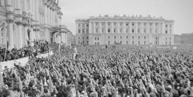 Митинг на Дворцовой площади (август 1991 года)
