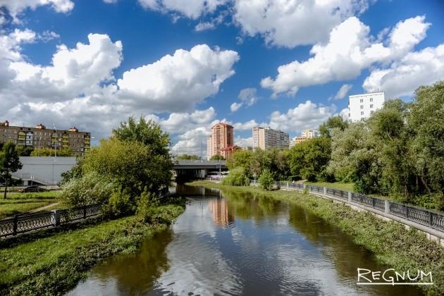 Последствия разлива Яузы в Москве полностью ликвидированы: фото