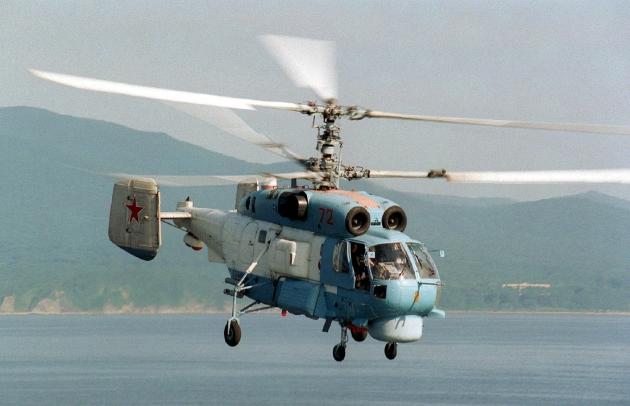 На Балтийском флоте  стартовало учение вертолетов морской авиации